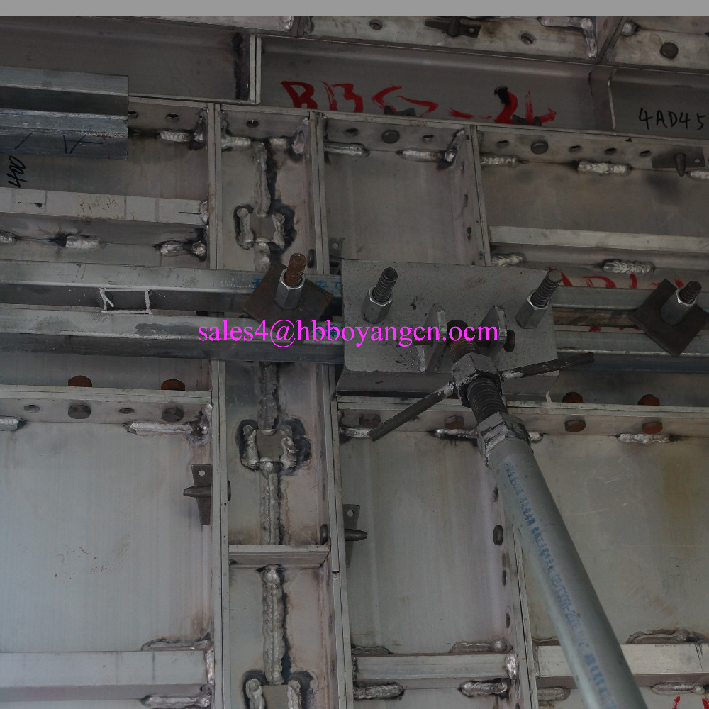 Light Weight 6061-T6 Aluminum formwork, Monolithic Housing Formwork