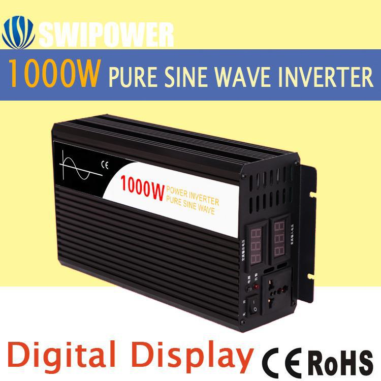 pure sine wave inverter 12v 220v <strong>1000w</strong> with high quality