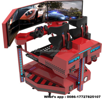 2018 8D gta vice city game download car rotating platform car racing game machine for sale