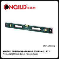 aluminium magnetic spirit level with adjustable bubble