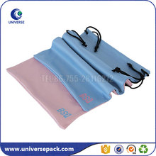 High Quality Custom Microfiber Drawstring Camera Bag With Printing