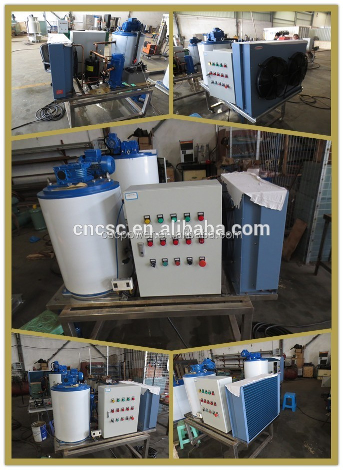 automatic flake ice machine CE approved Seawater Flake Ice Maker Machine