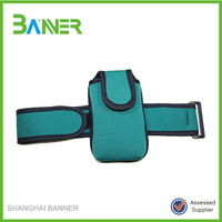 Promotional Outdoor running sports neoprene fabric armband