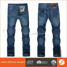 2014 Hot sale men jeans dark blue casual jeans in stock