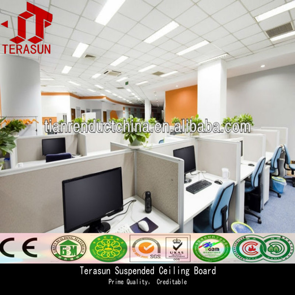 Lightweight waterproof gypsum board false ceiling price competitive