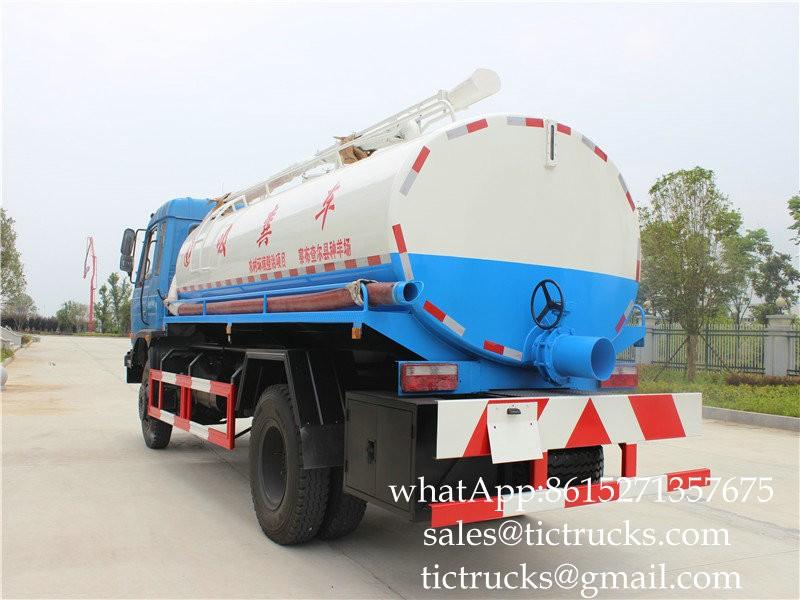 DF Dung vacuum truck 9m3 -08-Cesspit Emptier-Septic Tank.jpg