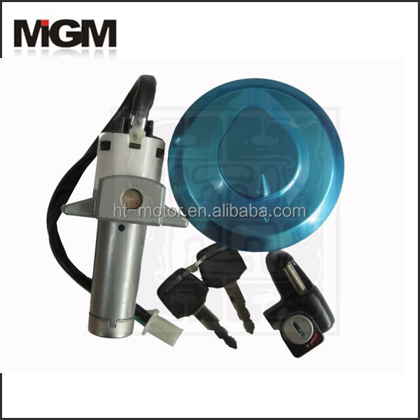 OEM High Quality Motorcycle lock sets , motorcycle fuel tap lock