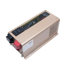 Low frequency solar pure sine inverter 3kw with charger LCD display 220VAC