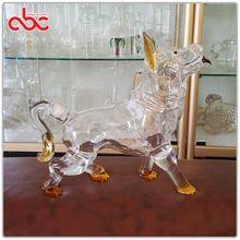 Dog Animal Shaped Zodiac Glass Bottle For Liquor 750ml 1000ml