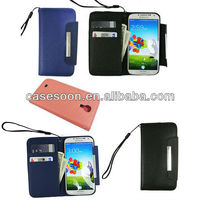 For Samsung Galaxy S4 Leather Case,Strap Style for Samsung I9500 Wallet Case