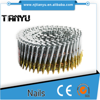 Pallet coil nail for furniture/flooring