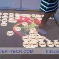 Cost Effective Interactive Floor Projection System