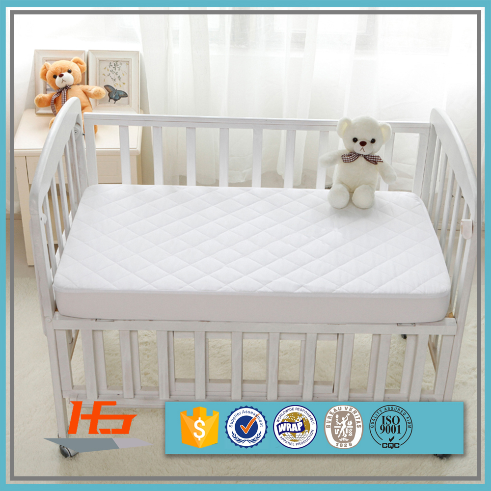 Quilted Cots 100% Waterproof Baby Size Mattress Protector