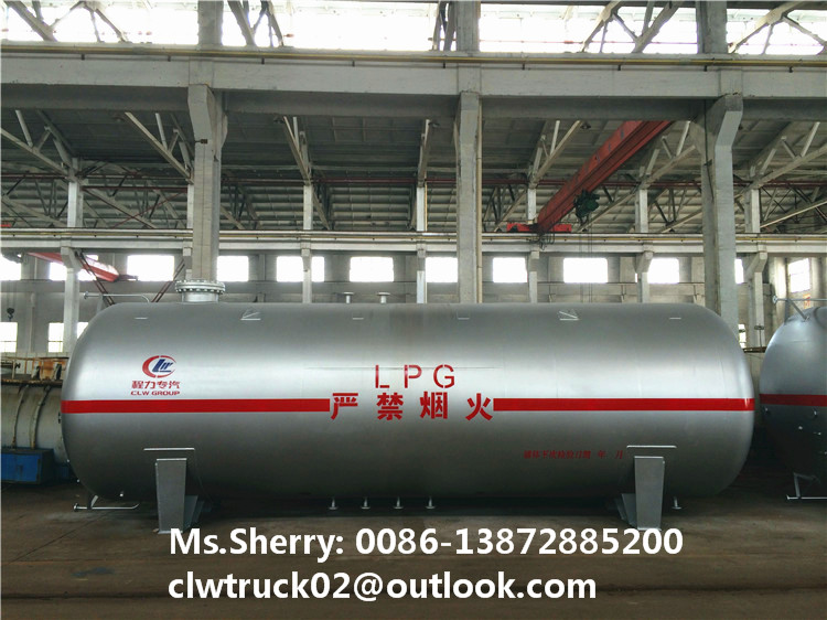 CLW factory direct sale 25cbm-50cbm LPG/propane storage tank for export