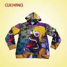 premium polyester sublimation pullover mens hoodies