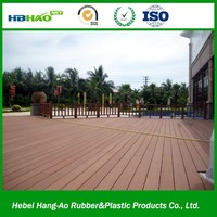Trade Assurance Outdoor WPC Decking Floor Board / Solid Wood Flooring