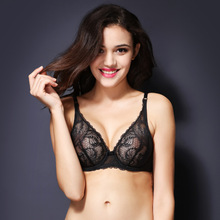 Z91265A New sexy women lace underwear sets bra and push up of lingerie