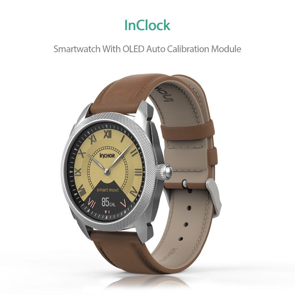 2017 New Arrival design products InClock healthy fitness smart watch moblie phone