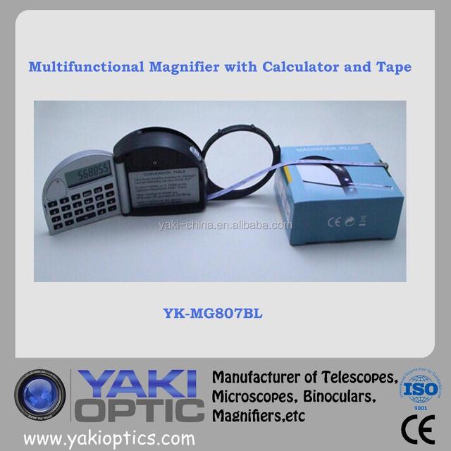 Mini Calculator with Magnifier,Tape / Pocket Calculator / Multi-function Calculator