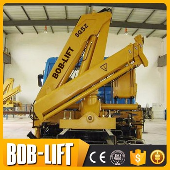 hydraulic truck mounted crane machine manufacturer
