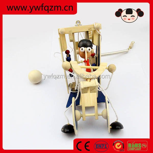 wholesale wooden craft flying toy wooden toy