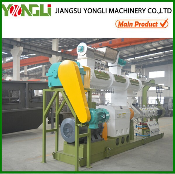 Extruded ring die pigeon feed pellet machine