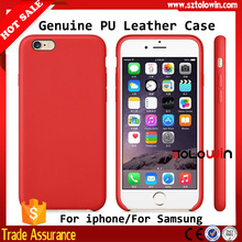 2016 Ultra Thin PU Leather Case For iphone 6, For iphone 6 Leather Cover 6plus