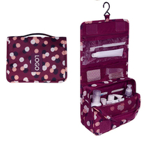 Environmental Utility Foldable Travel Cosmetic Toiletry Bag