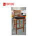 Chinese Furniture Supplier Comfortable Upholstered Bar Stools/New Model High Leg Bar Chairs(FOH-CXSC01)