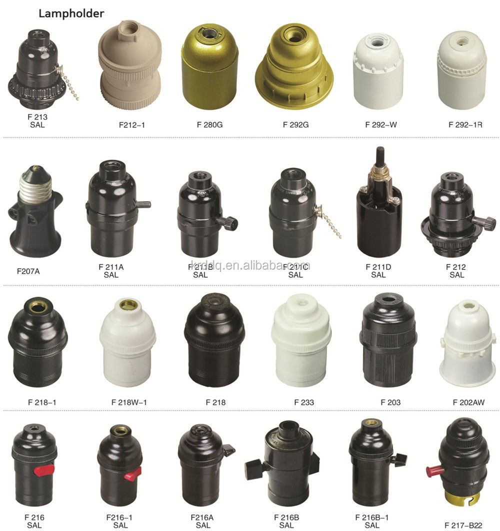 Lamp fittings electric iron spare parts of lampholdermetal fitting 6g krd1g krd12g mozeypictures Gallery