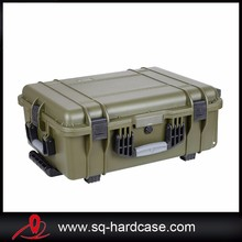 China Hard ABS plastic waterproof equipment cases with foam