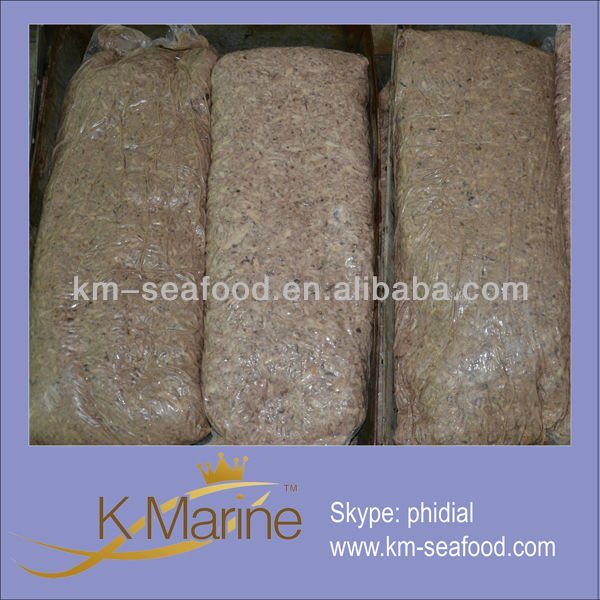 Dried bonito flakes frozen food