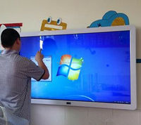 LED touch screen no projector interactive whiteboard for school