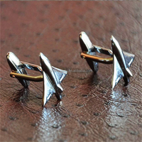 Fashion stainless steel mens cuff links wholesale