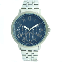 New style watches fashion alloy watch stainless steel watch for business