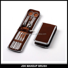 JDK Luxury PU Leather Case Manicure Kit