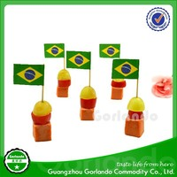 food topper cocktail contries flag bamboo toothpick