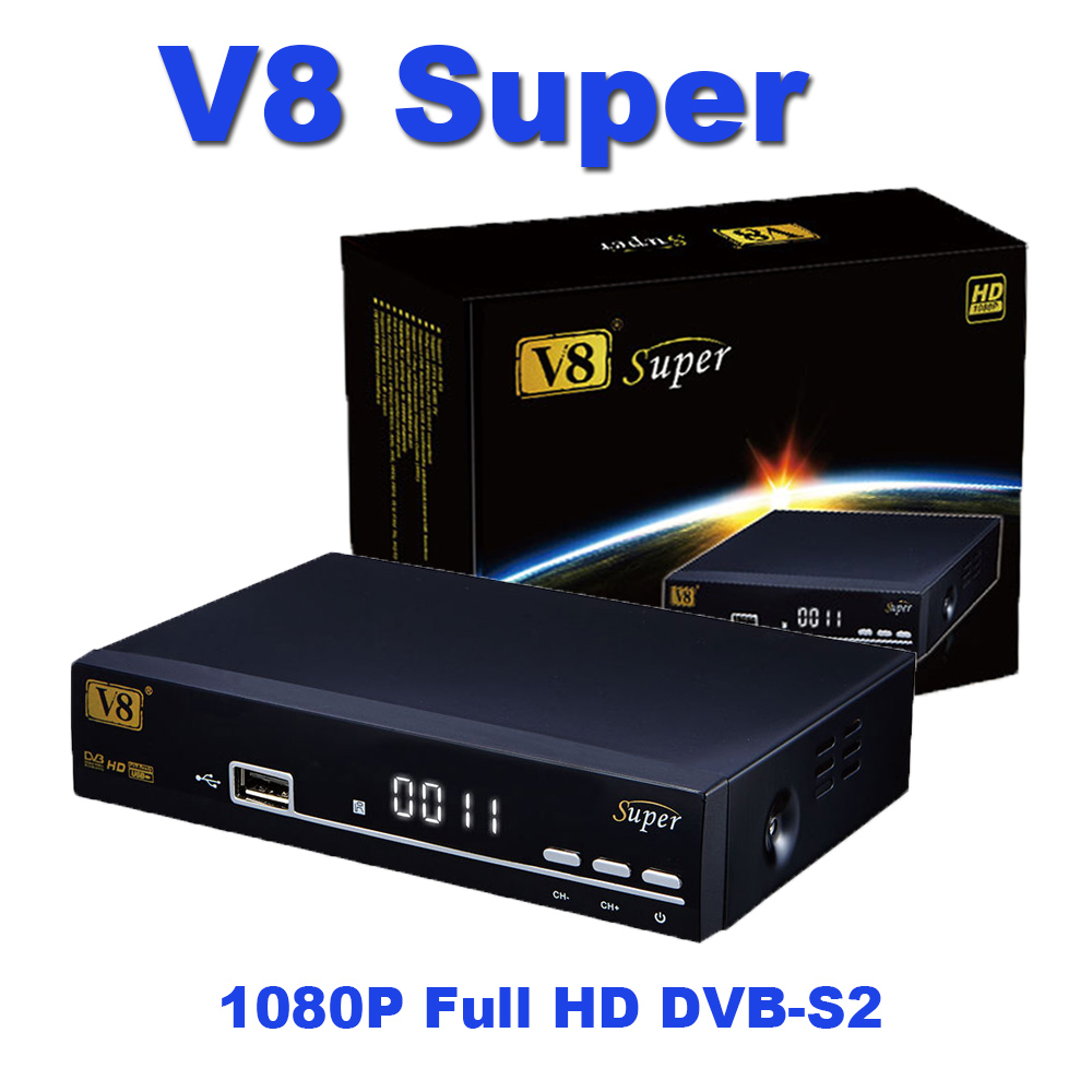 V8 Super Dvb-s2 Free To Air Digital Full Hd <strong>Satellite</strong> Receiver