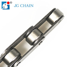 Roller chain type c2080 stainless steel double pitch conveyor chain