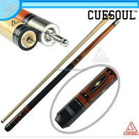Customized Canadian Maple Wood 1/2 Jointed Pool Cue Stick Billiard Cue