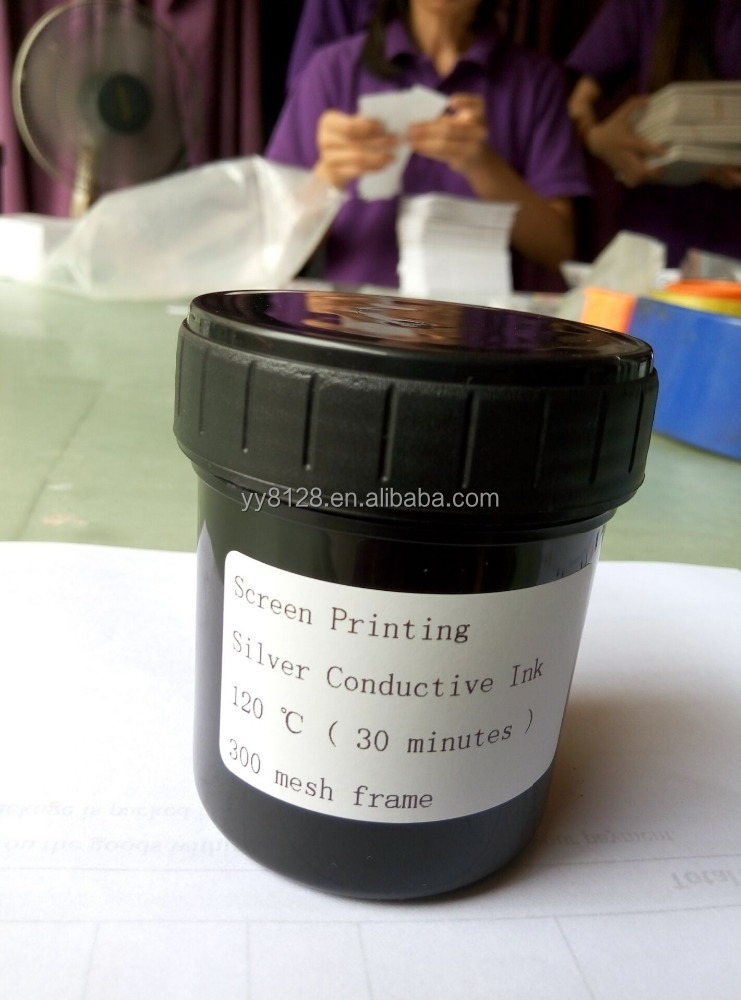 100gram/can Screen Printing Silver Conductive Ink <strong>Delivery</strong> to Swizerland