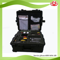 Watertight high impact plastic military standard police equipment case