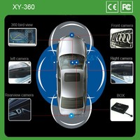 360 car blind spot asssist degree rotate police body camera with certificate XY-360