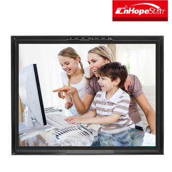 "Square screen 4:3 20"" 22"" 24"" Open Frame LED Monitor with Metal Case DC 12V"