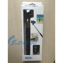 3 in 1 Selfie Monopod Remote Control Shutter with Clip Holder For Mobile Phone