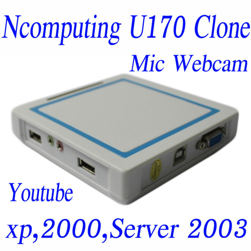 INCTEL (IN-10), 2-3 users supported, 32 bit color, mic, webcam, usb,youtube video supported,thin client U170