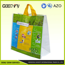 High quality china manufacturers, recycle used pp woven bopp color lamination plastic tote shopping carry beach bags for luggage