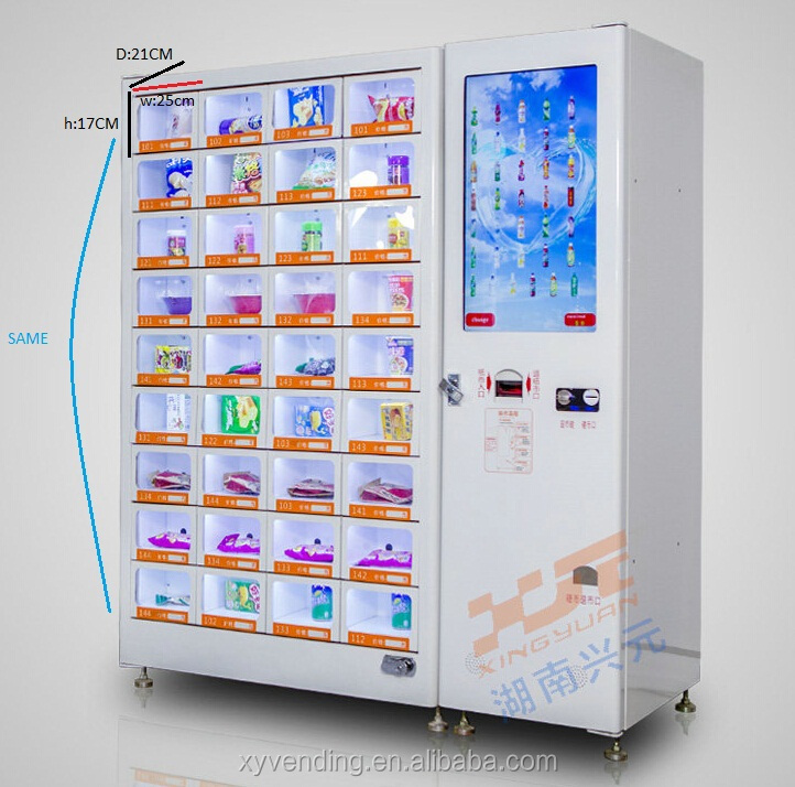Hot Sale Small Shop Drink Snacks Vending Machine