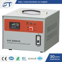 China Wholesale Shops Power Supplies SVC Series Single Phase Wall Mounting Voltage Stabilizer