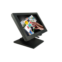 Plastic casing <strong>10</strong>.4inch resistive touch screen lcd monitor with VGA +USB interface